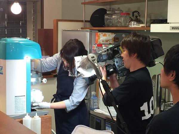おはようコール ABC朝日放送 専門店のかき氷レポート