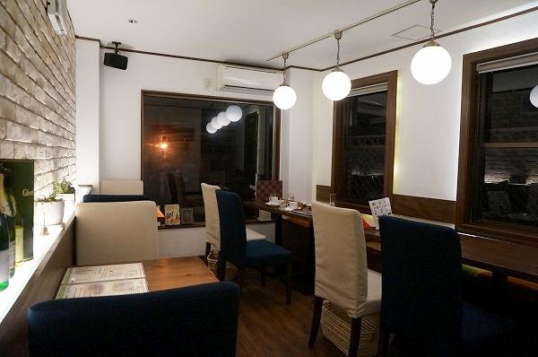 福島 スイーツバーパルク 夜カフェ