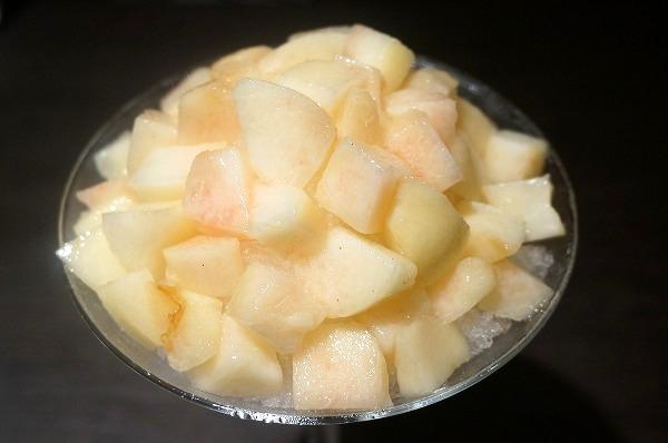 北新地 GROW 大人の桃かき氷