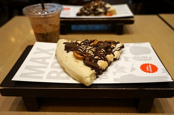 マックスブレナールクア大阪店限定チョコレートピザ
