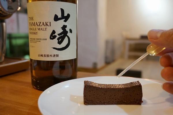 チョコレートケーキ研究所 ウイスキーチョコレートケーキ 試作