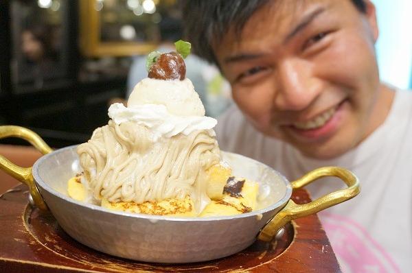 星乃珈琲店四ツ橋 モンブランフレンチトースト
