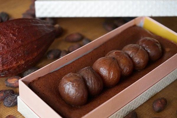 チョコレートケーキ研究所 和栗のテリーヌショコラ