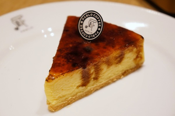 パブロコーヒー心斎橋OPAキレイ館 チーズタルト