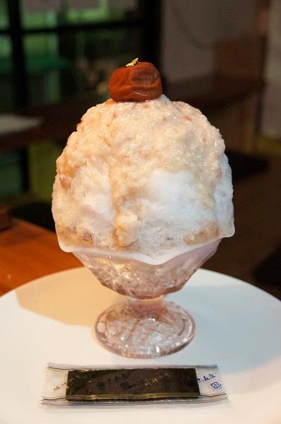 チョコレート研究所 甘酒うめ~かき氷